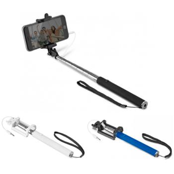 Bastão de selfie com botão obturador