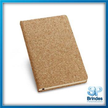 Caderno cortiça formato A5