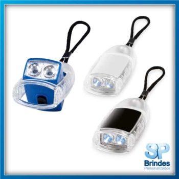 Chaveiro ABS com lanterna