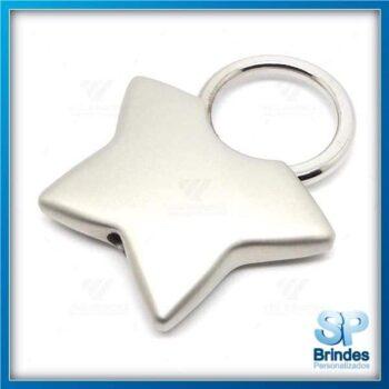 Chaveiro Estrela para Brinde