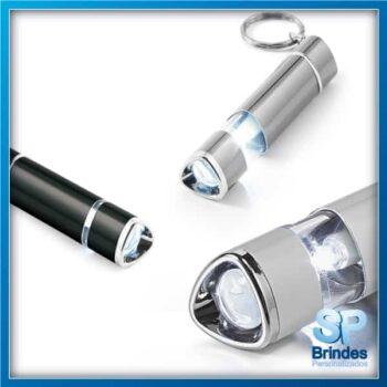 Chaveiro Lanterna Alumínio