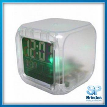Relógio com Luz para Brindes